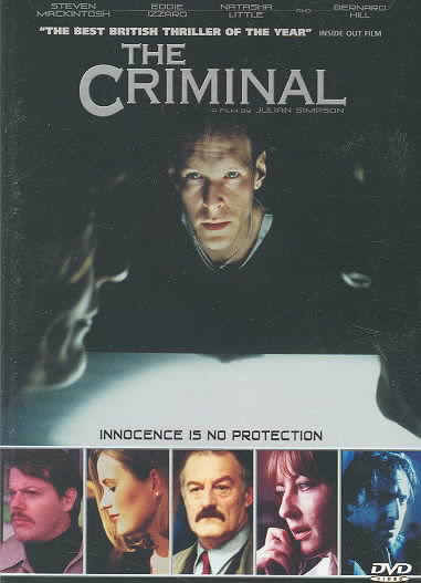 CRIMINAL BY MACINTOSH,STEVEN (DVD)